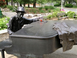 Hoagy Carmichael Landmark Sculpture