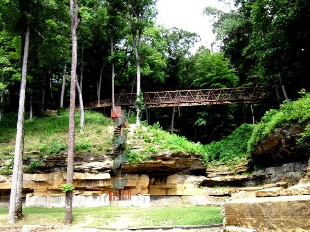 spiral stairs - expansion bridge
