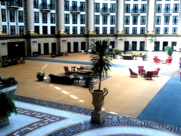 domed atrium lobby