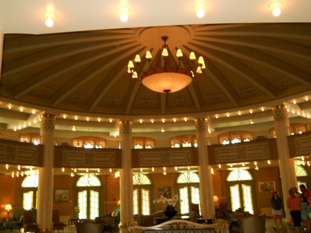 another but much smaller dome