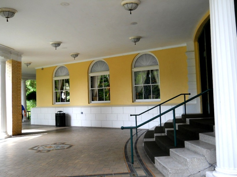One of the porches