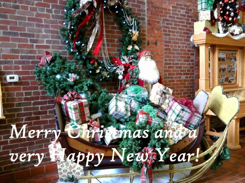 christmas decor-sleigh