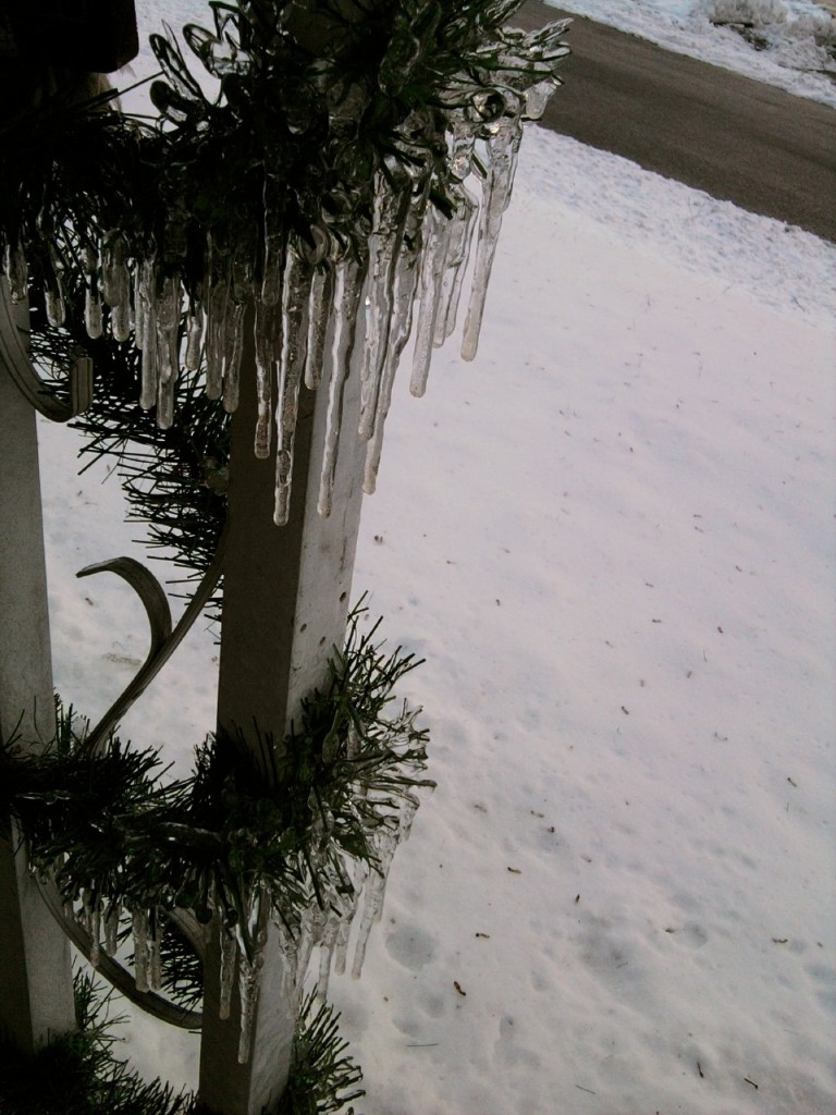 icicles on garland 2