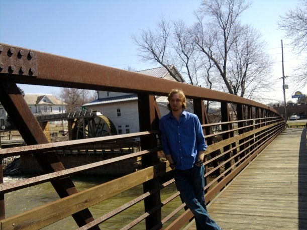 Patoka River walk bridge