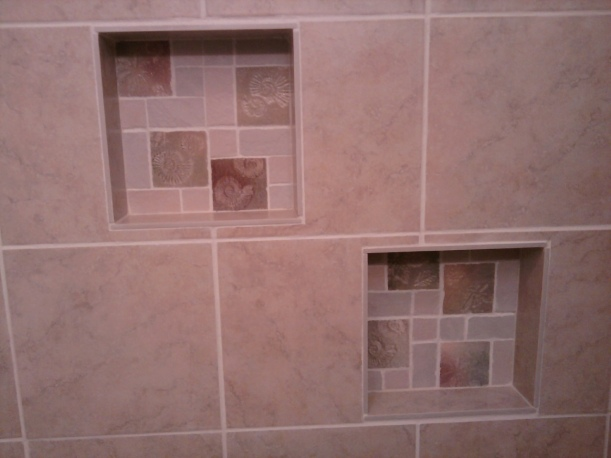shower tile-built ins