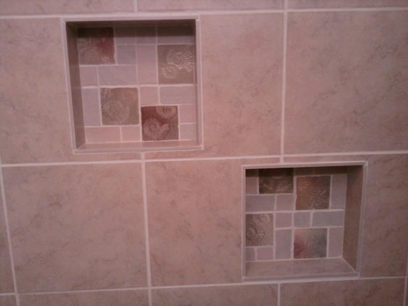 shower tile-built ins