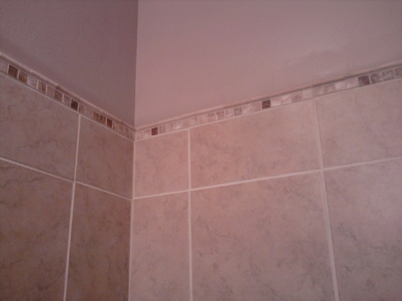 shower tile trim