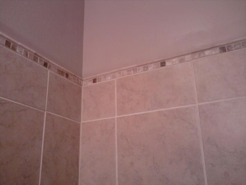 shower tile trim