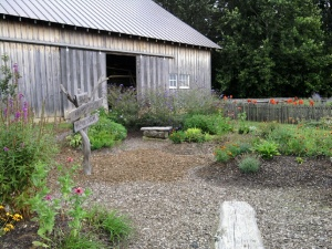 Old Barn and Garden