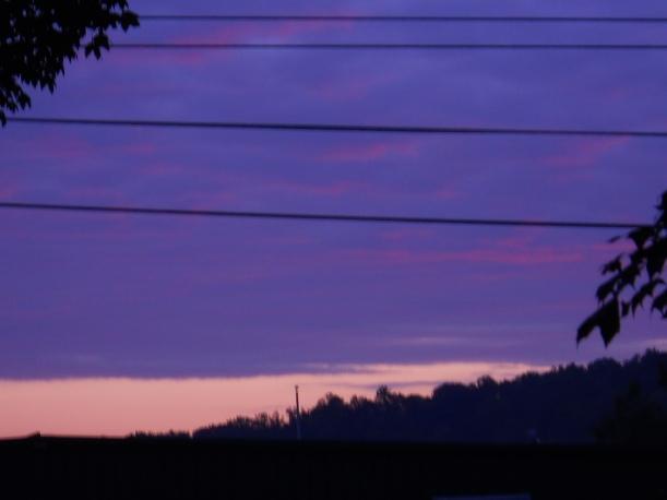 Cloud Wall at Sunrise