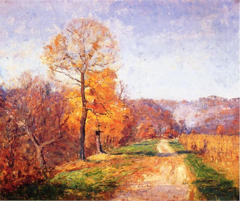T C Steele Painting