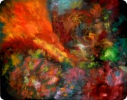 Phoenix-acrylic on canvas